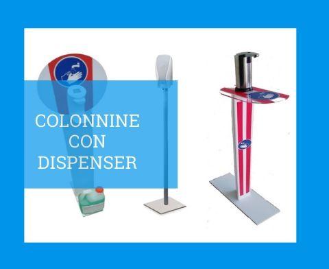 COLONNINE-CON-DISPENSER-GEL-MANI