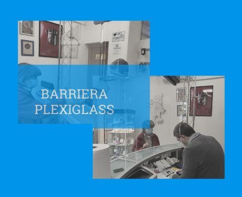 BARRIERE-PLEXIGLASS
